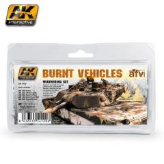Burnt Vehicles Weathering Set