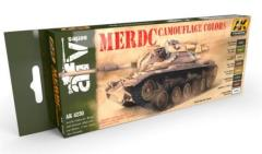MERDC Camouflage Colors Set