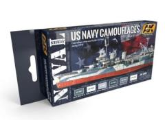 U.S. Navy Camouflages Colors Set