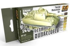 German Dunkelgelb Modulation Colors Set