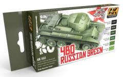 4BO Russian Green Modulation Colors Set