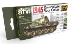 1945 German Late War Colors Set
