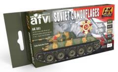 Soviet Camouflages Colors Set