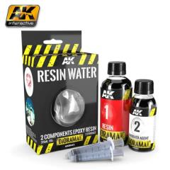 Resin Water 2-Components Epoxy Resin 375 ml