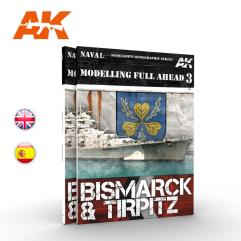 Modelling Full Ahead 3 - Bismarck & Tirpitz