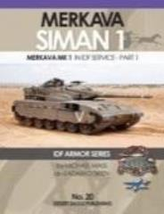 No. 20 - Merkava Siman 1 in IDF Service - Part 1