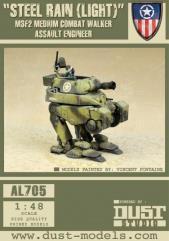 Medium Combat Walker M3-F2 - Steel Rain (Light)