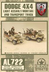 Desert Scorpion Light Assault/Mortar/Transport Trucks