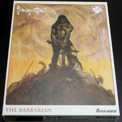 Frazetta Puzzle - The Barbarian