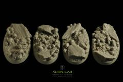 60mm Skulls (Oval Bases)