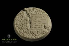 60mm Temple Ruins # 2 (Round Base)
