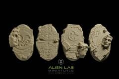 60mm Temple Ruins (Oval Base)