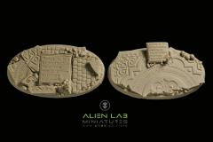 75mm Temple Ruins (Oval Base)