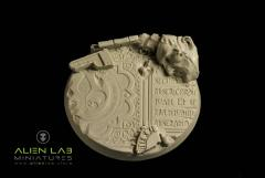 80mm Temple Ruins (Round Base)