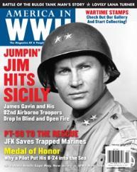 """Vol. 6, #5 """"Jumpin' Jim Hits Sicily, JFK Saves Trapped Marines, Medal of Honor"""""""