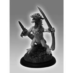 Draconid Sea Demon Warrior