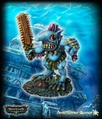 Sawblade Sea Goblin Warrior