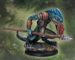 Ridgeback Lizardman Warrior #1