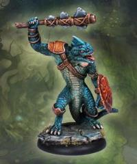 Ridgeback Lizardman Warrior #2