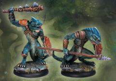Ridgeback Lizardman Warriors