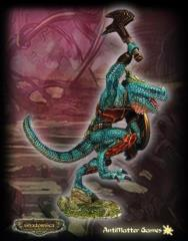 Ridgeback Lizardman Lord