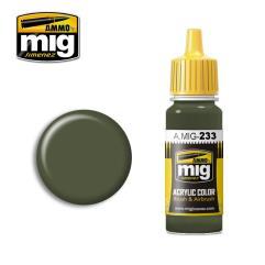 Dunkelgrun Green Grey