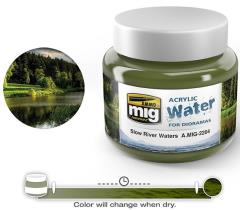 Acrylic Water - Slow River Water