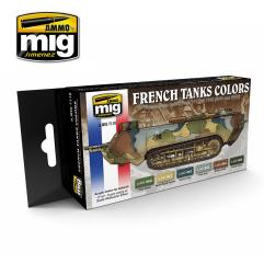 French Tank Colors