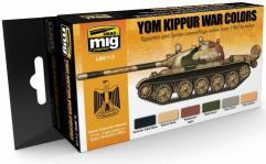 Yom Kippur War Colors