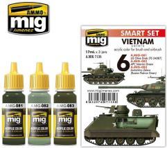 Vietnam Colors Set