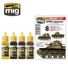 WWII Japanese Early Colors Set