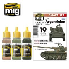 AFV Argentinian Color set