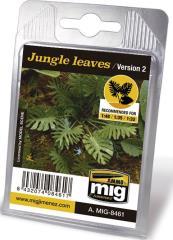 Laser Cut Plants - Jungle Leaves (Ver 2)