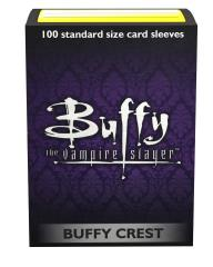 Standard Art Sleeves - Buffy Crest (100)