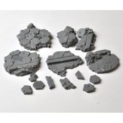 30mm Base Toppers - Hyper-City Industrial