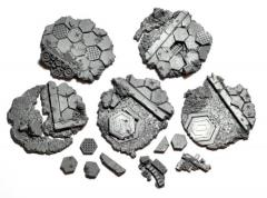 40mm Base Toppers - Hyper-City Industrial