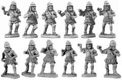 Spartan Hoplites in Linen Cuirass