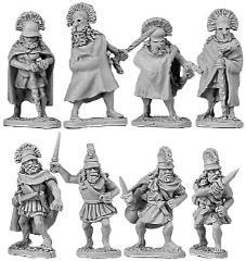 Spartan Generals & Officers
