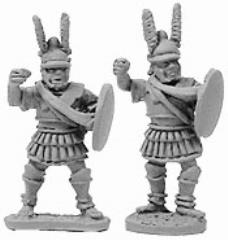 Macedonian Pikemen Officers and File Leaders