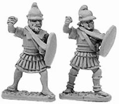Macedonian Pikemen in Linen Armor
