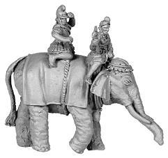 Hellenistic Elephant w/Crew Astride #2