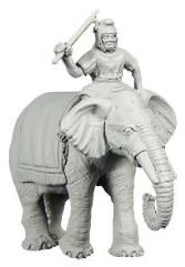 Carthaginian Elephant w/Mahout A
