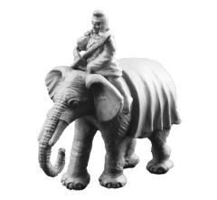 Carthaginian Elephant w/Mahout B