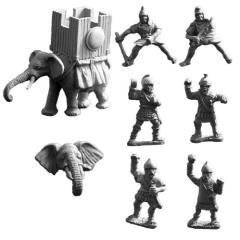 Carthaginian Elephant w/War Tower B
