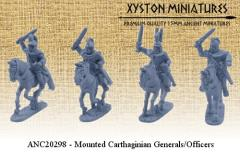 Mounted Carthaginian Generals & Officers