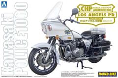 Kawasaki Police 1000 Cowling Type Motorcycle - CHP, Los Angeles Police Department