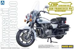 Kawasaki Police 1000 Window Shield Type Motorcycle - CHP San Francisco Police Department