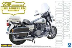 Kawasaki Police 1000 Window Shield Type Motorcycle - CHP, Lost Angeles Division