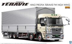 Hino Profia 4-Axle Heavy Freight Cargo Truck