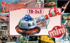 Mini Thunderbirds 3 & 5 - International Rescue Thunderbirds